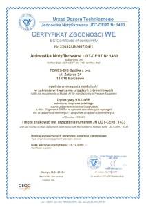 UDT CERT A1-1